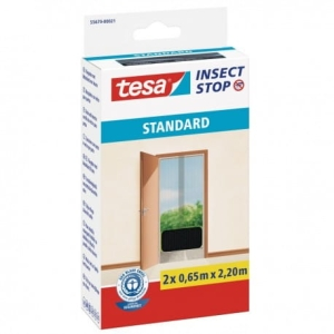 Moskitiera na drzwi Tesa Insect Stop Standard, 2x65x220 cm,antracyt